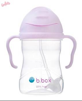 B.BOX - Bidon ze słomką 240 ml, Gelato Boysenberry