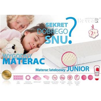 Hevea - Junior Materac Lateksowy 80x160 Aegis