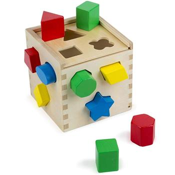 Melissa&Doug: Drewniany sorter sześcian Cube