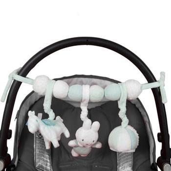 Tiamo - Miffy Mięta Pałąk interaktywny do fotelika