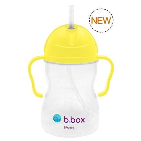 B.BOX - Bidon niekapek żółty