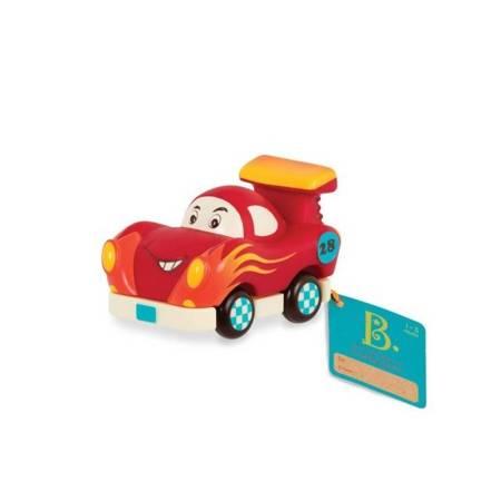 B.Toys: Miękkie auto Mini Wheeee-ls! Wyścigówka
