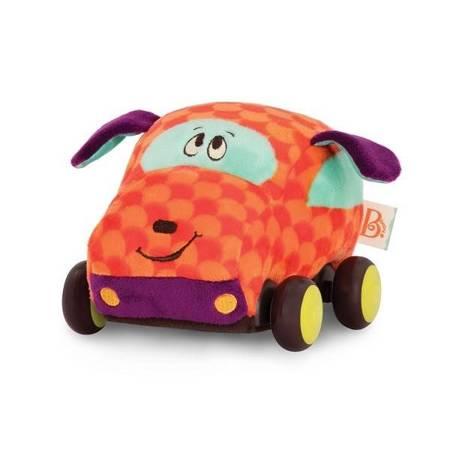 B.Toys: Pluszowe autko z napędem piesek