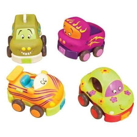 B.Toys: Wheeee-ls! – zestaw 4 autek z napędem
