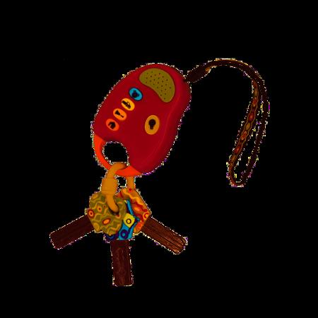 B.Toys: Zestaw kluczy samochodowych z pilotem