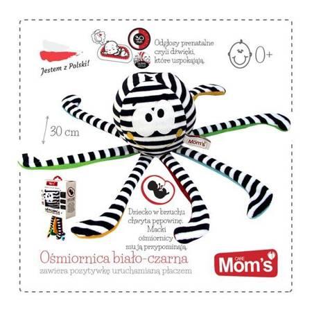 Hencz Toys - Ośmiornica biało-czarna z pozytywką