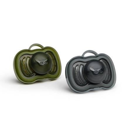 Herobility - Zestaw smoczków Czaerny/Zielony 6m+