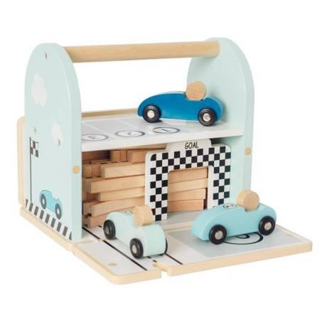 Jabadabado - Drewniany tor wyścigowy z autami