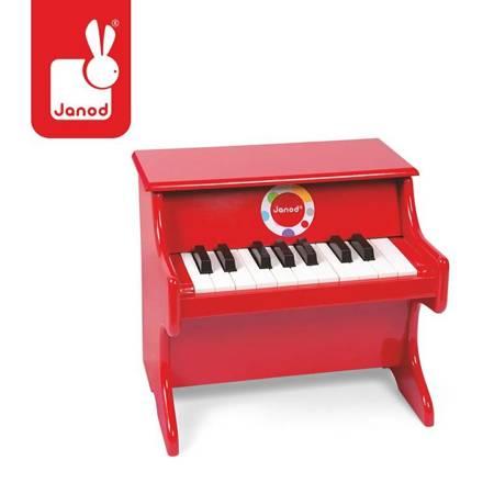 Janod - Czerwone pianino Confetti